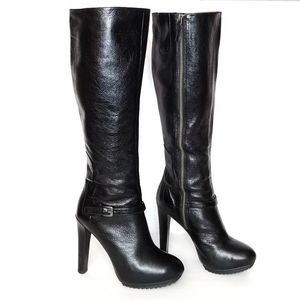 Nine West Leather Craftwork Knee-high Boots